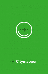 citymapper app launch screen