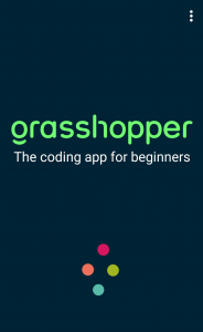 grasshopper app launch screen