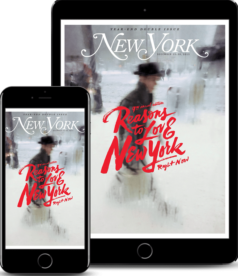 The New York Magazine App Created with Mag+