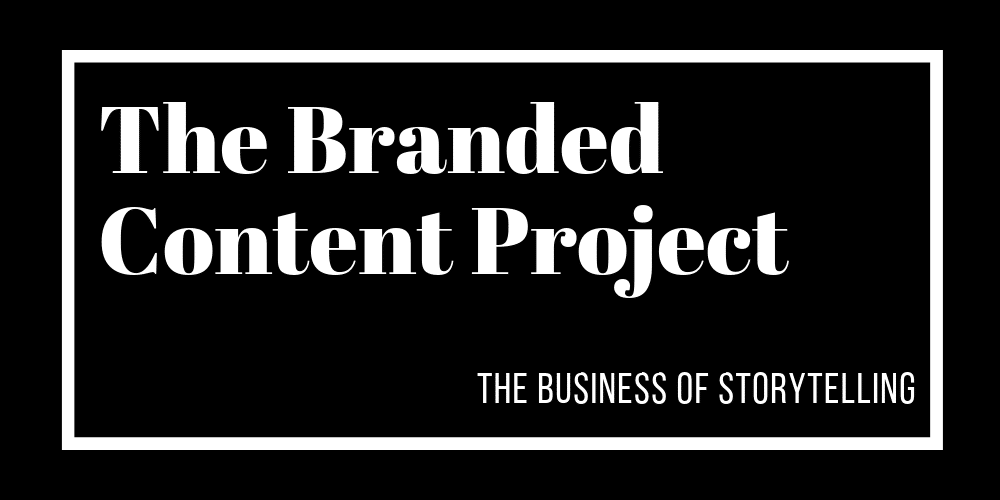 a logo of the branded content project
