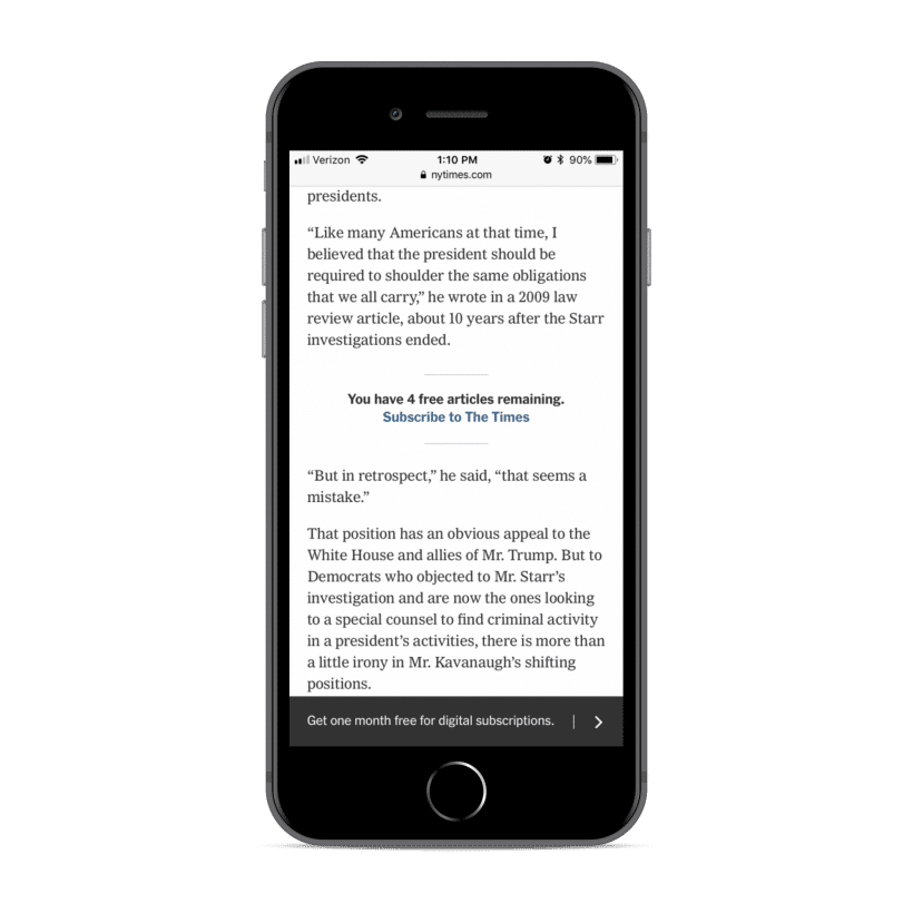 NYT Mobile App Growth Strategy