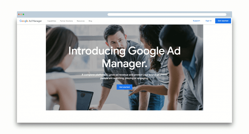 Google Ad Manager for mobile app monetization